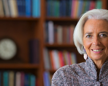 Cryptocurrencies are 'clearly shaking the system,' IMF's Lagarde says